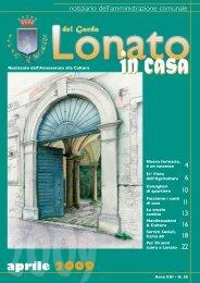 aprile 2009 - Comune di Lonato del Garda