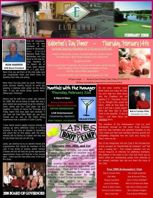 February 2008 Newsletter Draft.pub