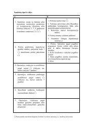 Sandorių tipai ir rūšys A B 1. Sandoriai, susiję su faktiniu arba ...