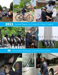 2011 Annual Report on Crime & Crime Control - Metropolitan ...