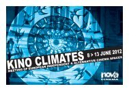 KINO CLIMATES - Cinéma Nova