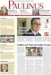 Global denken, lokal handeln - Südeifel Strom eG