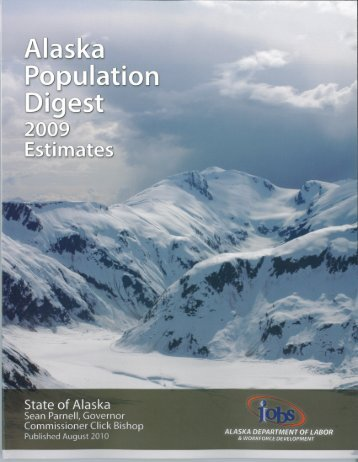 Alaska Population Digest: 2009 Estimates - Research and Analysis ...