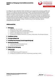 Merkblatt zur Eintragung ins Installateurverzeichnis Strom