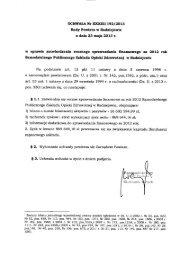 UCHWAŁA Nr XXXIIIl192/2013 Rady Powiatu w Radziejowie z dnia ...