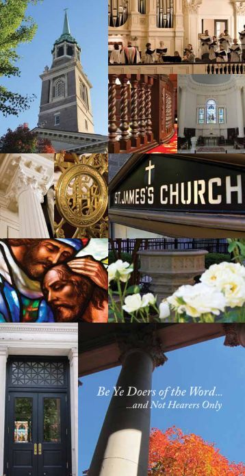 Be Ye Doers of the Word... - St. James's Episcopal Church