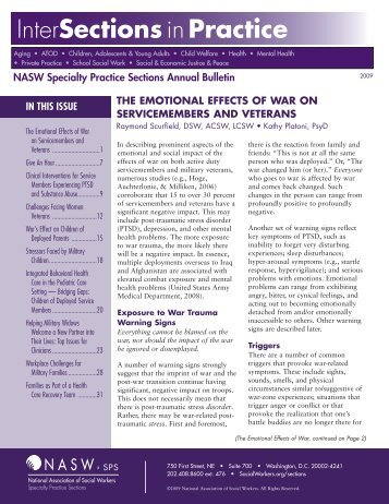 Intersections in Practice - National Association of Social Workers