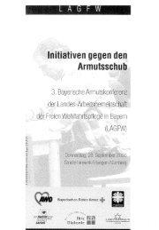 3. Bayerische Armutskonferenz der Wohlfahrtsverbände - AWO ...