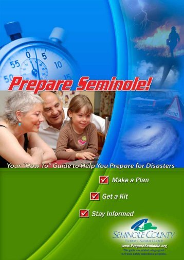 Prepare Seminole Guide - City of Winter Springs