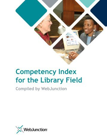 Competency Index for the Library Field - WebJunction