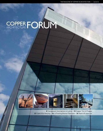 Copper Architecture Forum - Copper Development Association