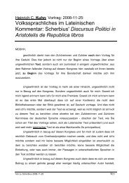 Scherbius' Discursus Politici in Aristotelis de Republica libros
