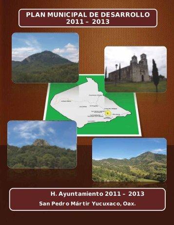 plan municipal de desarrollo 2011 – 2013 - finanzasoaxaca.go..