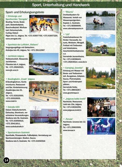 Stadt Jelgava Gebiet Jelgava Gebiet Ozolnieki
