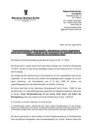 Eine Replik auf die Rechtsauffassung des Berliner Senats zur Drs. 17