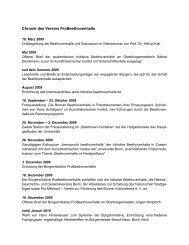 Chronik des Vereins ProBeethovenhalle