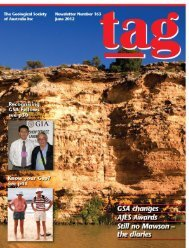 TAG 163 - Geological Society of Australia