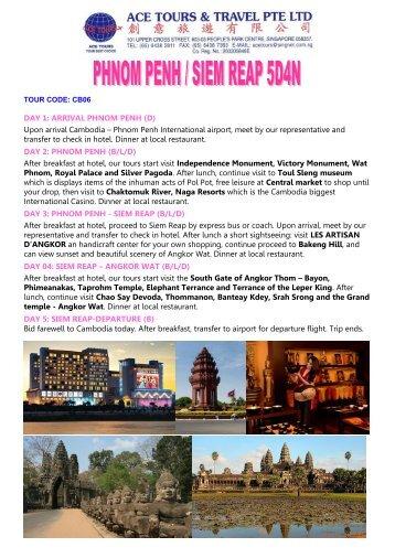 DAY 1: ARRIVAL PHNOM PENH (D) - Tour Packages NATAS Travel ...