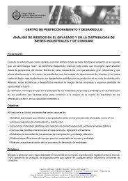 CENTRO DE PERFECCIONAMIENTO Y DESARROLLO ... - Aimplas