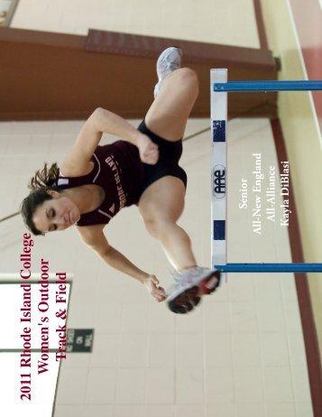 2011 Outdoor Track & Field Media Guide - Rhode Island College ...