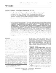 Mobility in maltose-water glasses studied with 1 H NMR