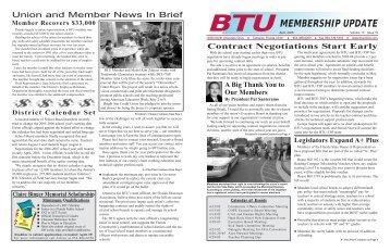 Member Update V13 I10 2.qxd (Page 1) - Broward Teachers Union