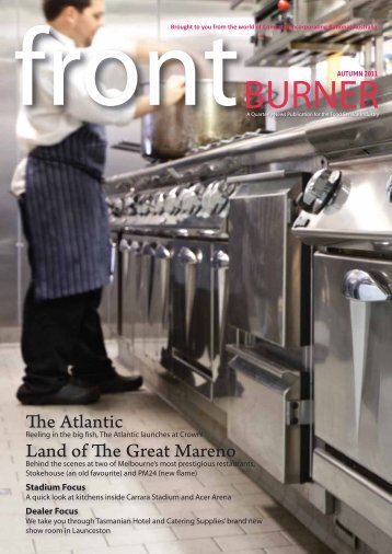 Download Front Burner Issue - Autumn 2011 - Comcater
