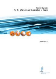 Madrid System for the International Registration of Marks ... - WIPO