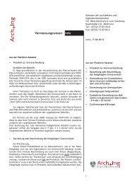 Vermessungswesen Info 3/2013 - Kammer der Architekten und ...