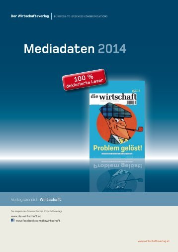 Mediadaten 2013 - Die Wirtschaft