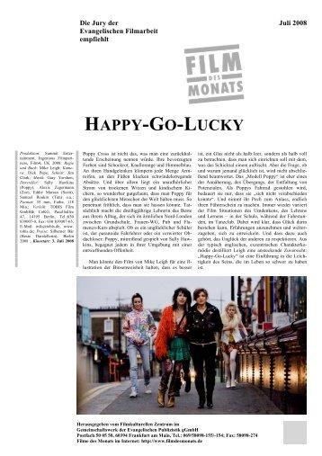 HAPPY-GO-LUCKY - Film des Monats