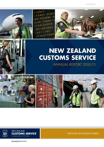Annual Report 2010-2011 - New Zealand Customs Service