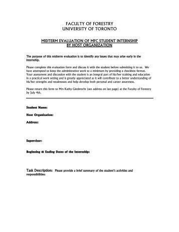 Internship midterm report