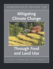 """Mitigating Climate Change through Food and Land Use"" World ..."