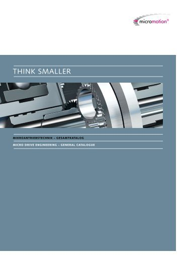 Think smaller - Micromotion