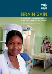 Brain Gain: Making Health Worker Migration Work for Rich ... - VSO