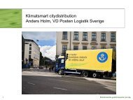 Anders Holm, Posten Logistik (PDF-fil, 396 kB) - KNEG