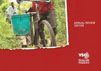 Annual Review 2007/08 - VSO