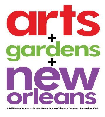 New - Arts Council of New Orleans