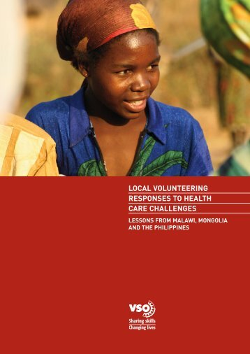 National volunteering health research report - VSO