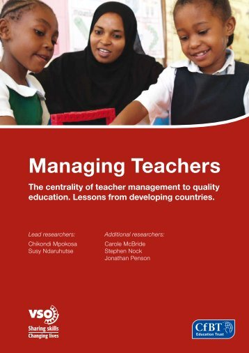Managing Teachers (987KB) - VSO