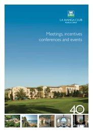 Meetings, incentives conferences and events - Ria Mooijaart ...