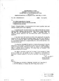 Amendment to license agreement w.r.t. security clearance ... - Auspi.in