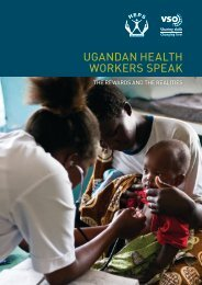 Ugandan Health Workers Speak Out - The Rewards and the ... - VSO