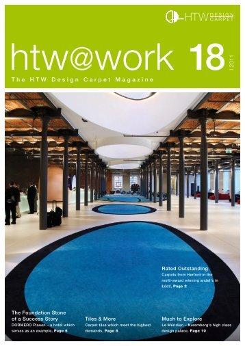 I 2011 The HTW Design Carpet Magazine - Storm agentur