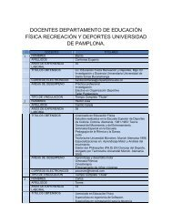 Personal Docente - Universidad de Pamplona