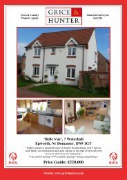 Price Guide: £220,000 - Grice & Hunter