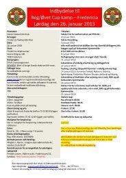 Kampstævne - Dansk Taekwondo Forbund