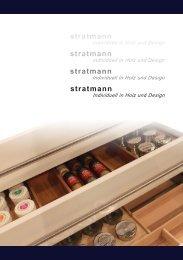 Katalog 2012.indd - stratmann Individuell in Holz und Design