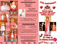 FRIENDSHIP AWARD - Miss All Canadian Pageants